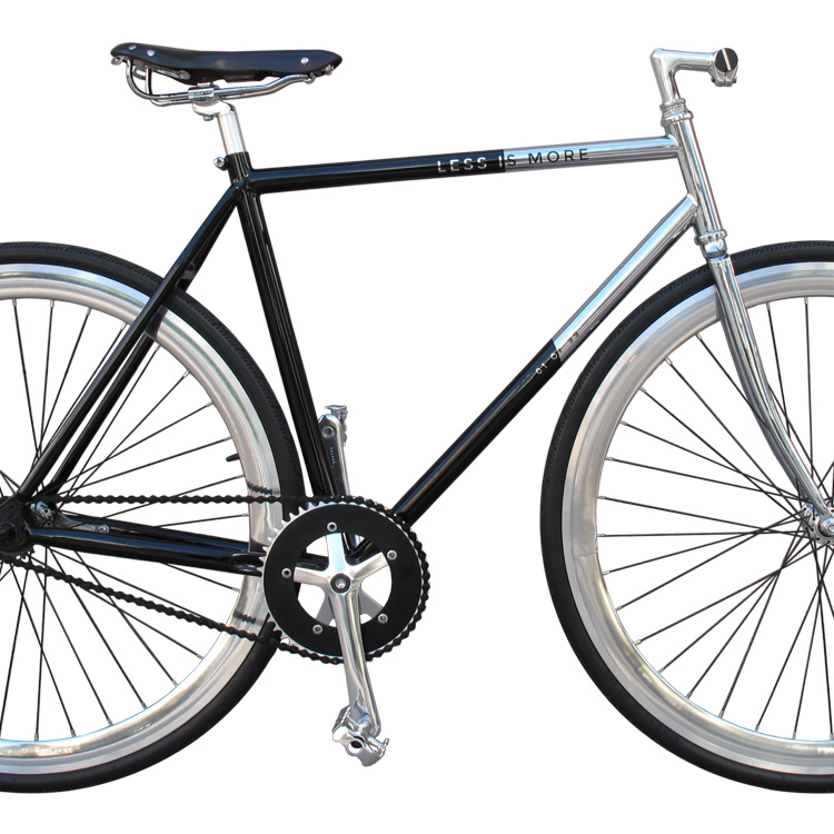Less Is More, bicicletta