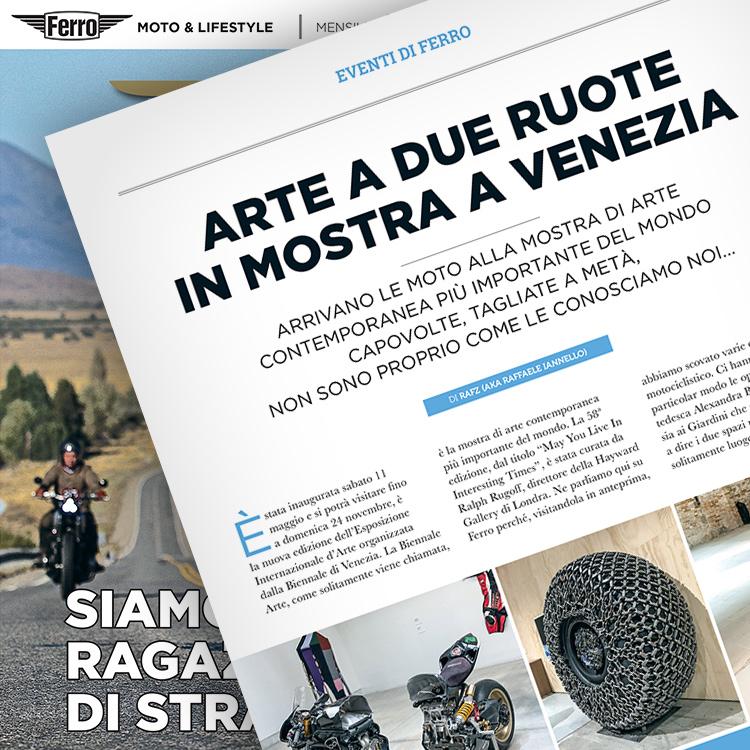 Ferro 44, Biennale Arte