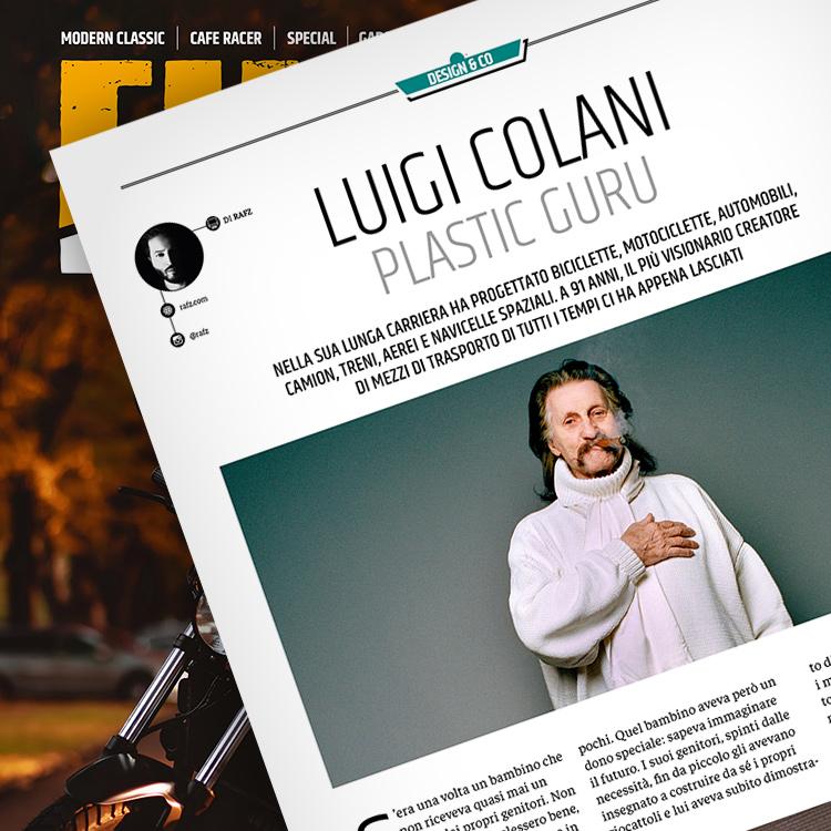Fuel 4, Luigi Colani
