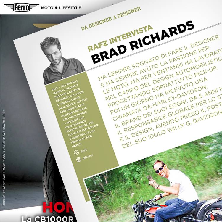 Ferro 48, Brad Richards