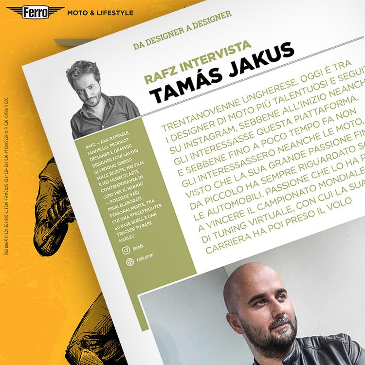 Ferro 50, Tamás Jakus