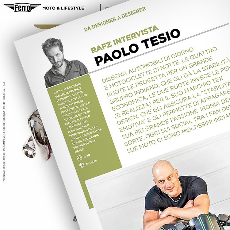 Ferro 51, Paolo Tesio