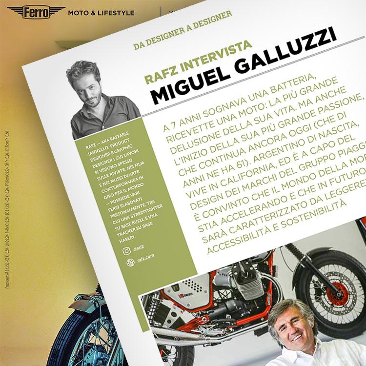 Ferro 52, Miguel Galluzzi