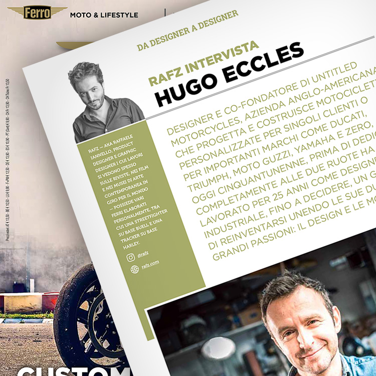 Ferro 55, Hugo Eccles