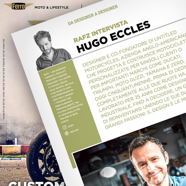 Ferro 55, Hugo Eccles