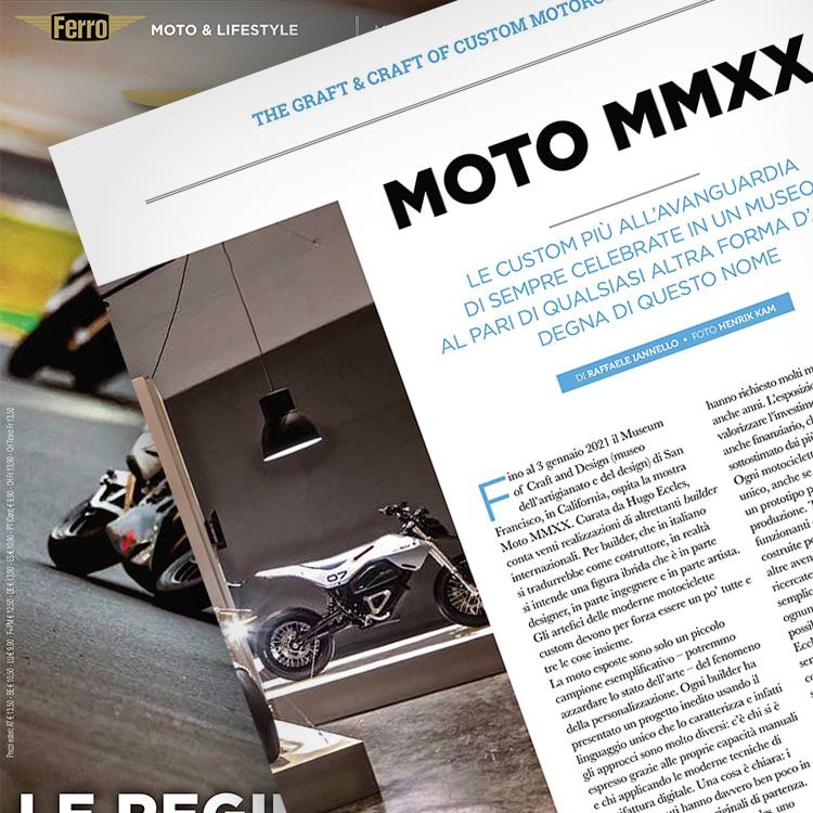 Ferro 56, Moto MMXX