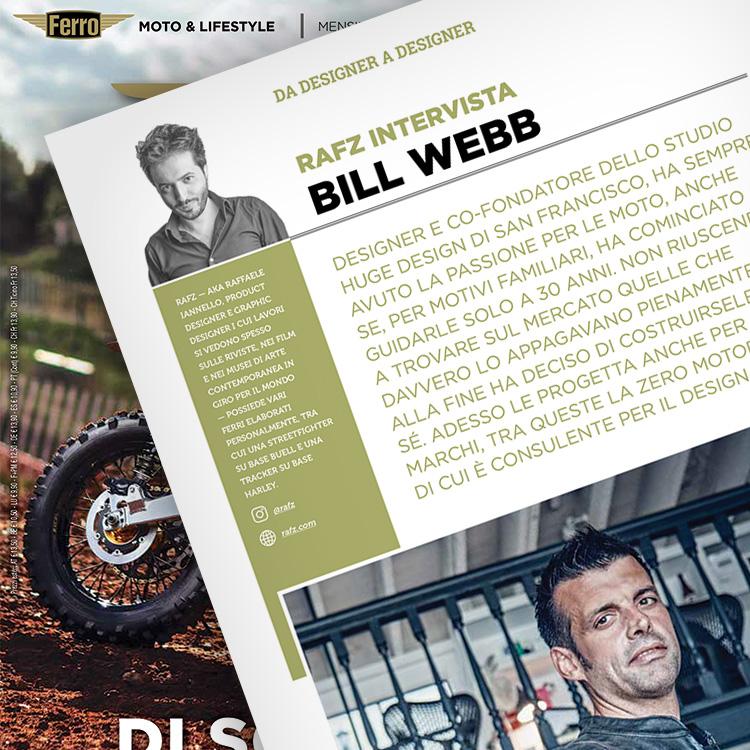 Ferro 57, Bill Webb