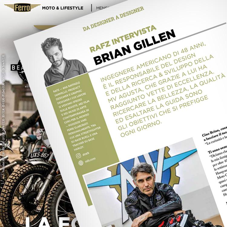 Ferro 58, Brian Gillen